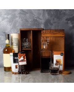 Rustic Decanter Whiskey Set