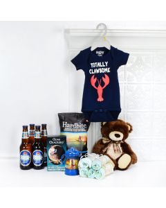 Baby Boy Blue Gift Set, baby gift baskets, baby boy, baby gift, new parent, baby