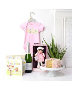 Newborn Baby Girl Gift Basket, baby gift baskets, baby gifts, gift baskets