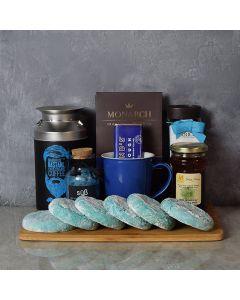 Kosher Coffee & Cookies Gift Basket