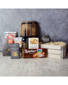 Touch of Elegance Wine Gift Set, wine gift baskets, gourmet gift baskets, gift baskets