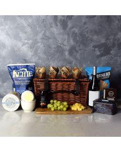 Country Lane Wine Gift Basket