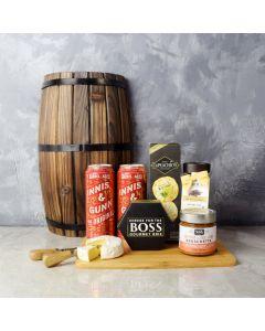 Bold & Zesty Beer Gift Set, beer gift baskets, gourmet gift baskets, gift baskets