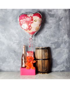 Briar Hill Romantic Gift Basket, champagne gift baskets, gourmet gift baskets, Valentine's Day gifts, gift baskets, romance