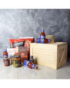 Clamato & Confections Gourmet Gift Set, gourmet gift baskets, gift baskets, gourmet gifts