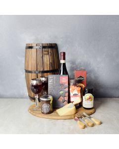 Sweet & Fruity Wine Gift Basket, wine gift baskets, gourmet gift baskets, gift baskets, gourmet gifts