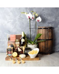 Deluxe Sweet & Savory Wine Gift Set, wine gift baskets, gift baskets, gourmet gifts