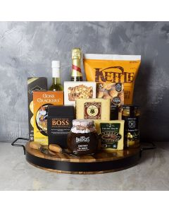 Champagne & Cheese Platter Gift Set