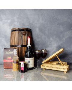Sweet Temptations Gourmet Wine Basket, wine gift baskets, gourmet gift baskets, gift baskets