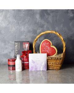 Beaconsfield Valentine's Day Gift Basket, gourmet gift baskets, Valentine's Day gifts, gift baskets, romance