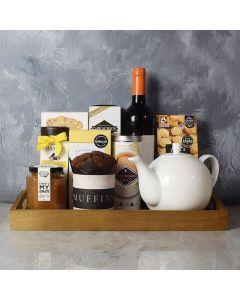 Afternoon Tea & Wine Basket