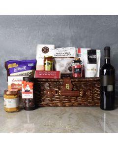 Kosher Wine & Treats Basket