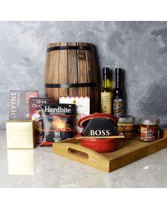 Brie Baker & Truffles Gift Set, gourmet gift baskets, gift baskets, gourmet gifts