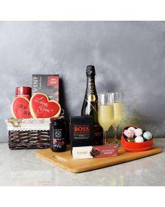 Annex Valentine's Day Gift Basket, champagne gift baskets, gourmet gift baskets, gift baskets, Valentine's Day gift baskets