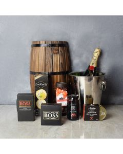 Celebratory Champagne Gift Bucket, champagne gift baskets, gourmet gifts, gifts