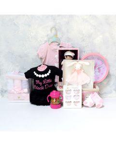 BABY GIRL'S BEDROOM & PLAYSET, baby girl gift hamper, newborns, new parents