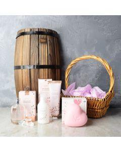 Dewy Radiance Spa Gift Set, spa gift baskets, spa gifts, gift baskets, spa sets