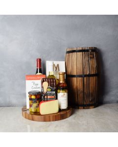 Spicy & Saucy Wine & Dipper Set, wine gift baskets, gourmet gift baskets, gift baskets, gourmet gifts