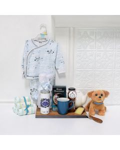 Tea & Sleepytime Gift Set, baby gift basket, welcome home baby gifts, new parent gifts