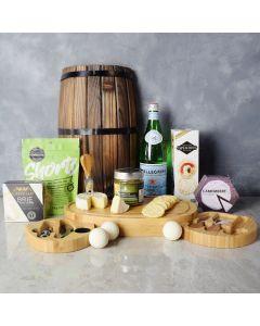 Gourmet Brie and Tapenade Gift Set, gourmet gift baskets, gift baskets, gourmet gifts
