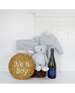 THE LOVABLE BABY BOY GIFT SET