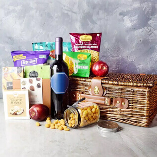 Diwali Gift Basket With Sparkling Gifts & Goodies Maine