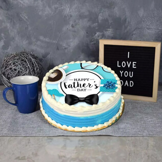 Dapper & delicious Fathers Day Cake Maine