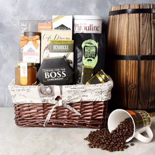 Forest Hill Coffee & Snack Basket Maine