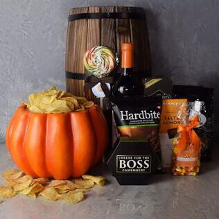 Plump Pumpkin Gift Basket Maine