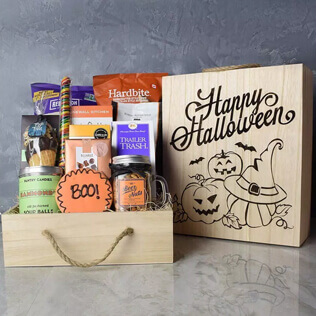 Trick Or Treat Snacking Crate Maine