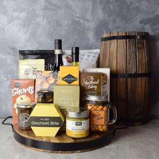 Hillcrest Wine Basket Maine