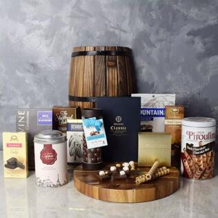 Lansing Bountiful Chocolate Basket Maine