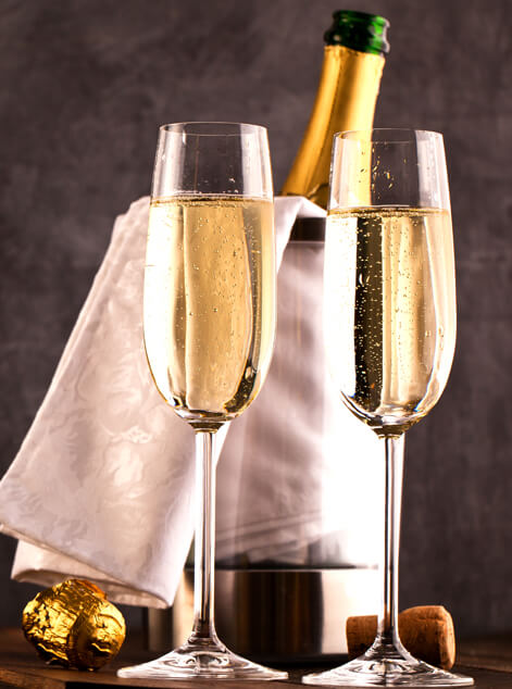 Champagne Gift Baskets Delivery Fabyan