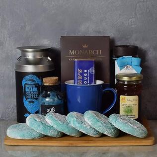 Kosher Coffee & Cookies Gift Basket Maine