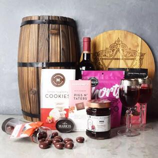 Kosher Raspberry Sweets & Treats Set Maine