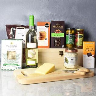Kosher Wine & Cheese Crate Maine