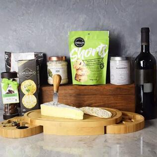 Kosher Wine & Cheese Party Crate Maine