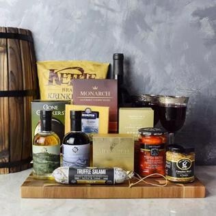 Etobicoke Wine & Cheese Gift Basket Maine