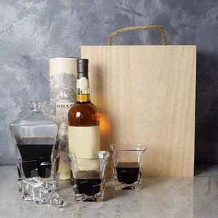 Liquor & Decanter Crate Maine