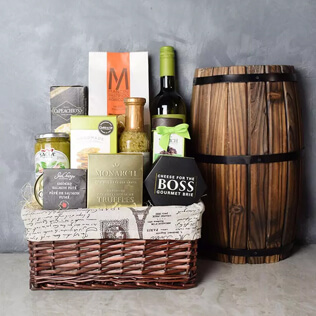 Perfect Pasta Gift Set With Wine Maine