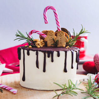 Cake gift baskets Sherman Station