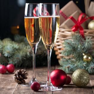 Champagne gift baskets Sherman Station