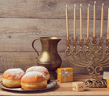 Hanukkah Gift Baskets Delivered to Maine