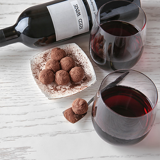Our Wine& Chocolate Gift Ideas for Friends